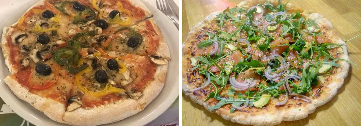 Pizzas Pizzeria La Palette