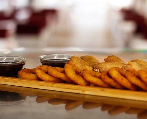 Aros de cebolla - Restaurante La Palette