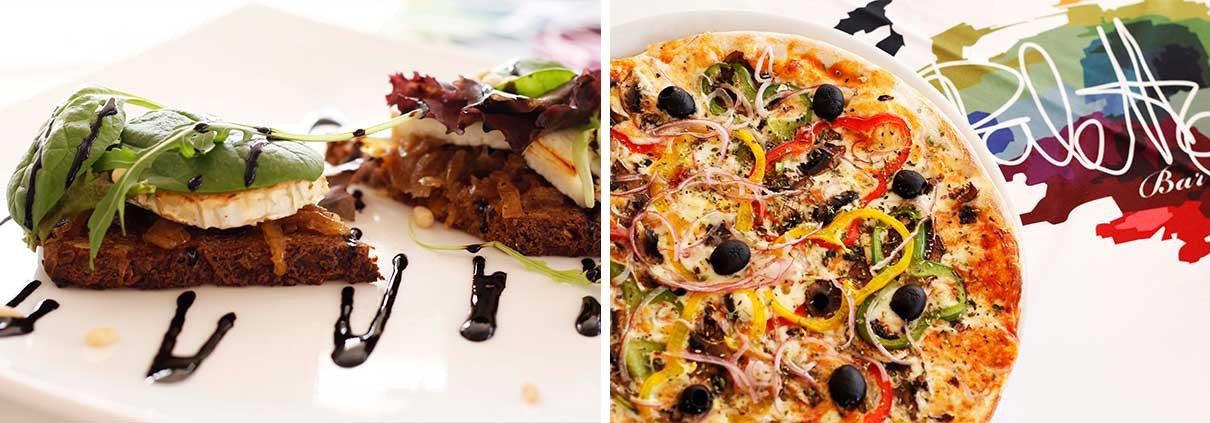 Pizza y Entrante - Restaurante La Palette