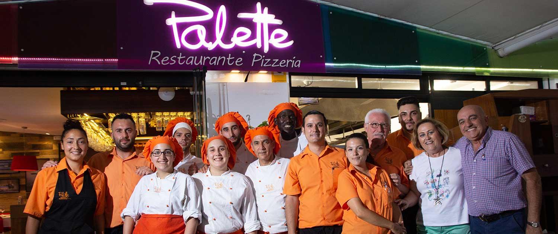 Equipo - Restaurante La Palette