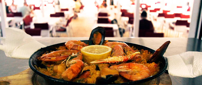 Paella - Restaurante La Palette