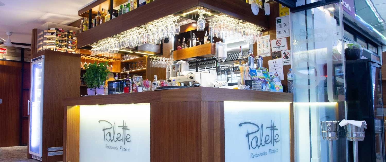 Mostrador - Restaurante La Palette
